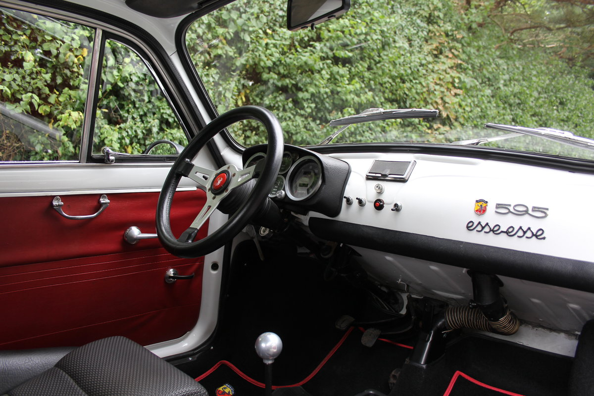 1966 Genuine Fiat Abarth 595  SOLD (picture 11 of 19)