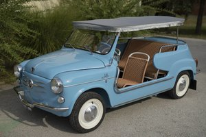 1972 Fiat 600 Jolly Ghia Resto-Mod Mint For Sale