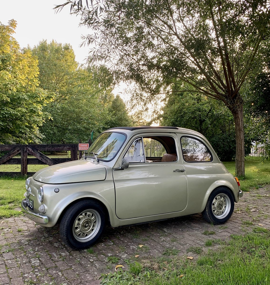 1970 Fiat 500L - Olive Green For Sale (picture 1 of 5)