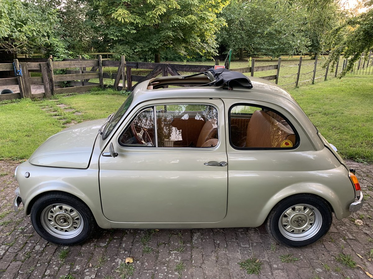 1970 Fiat 500L - Olive Green For Sale (picture 2 of 5)