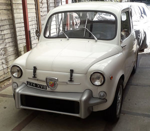 1962 Fiat Abarth 850 TC Tribute 12 Sep 2019