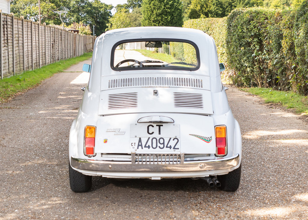 1971 Fiat 500F SOLD by Auction (picture 1 of 5)