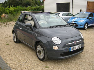 2010 FIAT 500C CONVERTIBLE. 1 0WNER AND ONLY 36,000 MILES SOLD