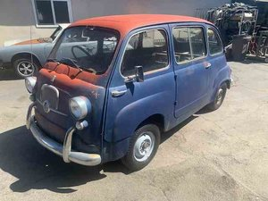 1957 Fiat 600 Multipla Seats 6 Rare Project U finish $13.9k
