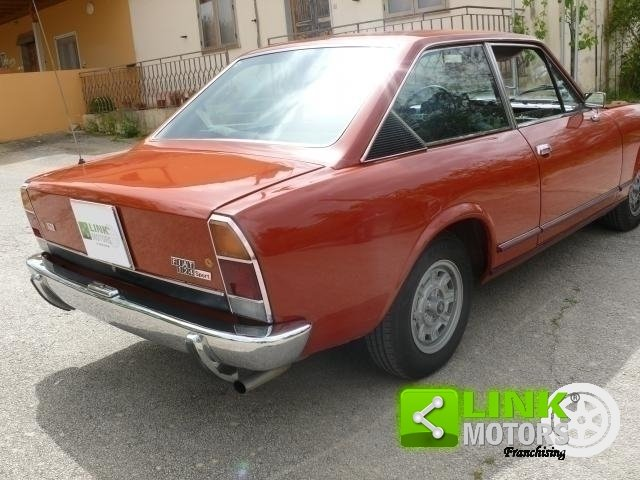 1975 Fiat 124 1600 Coupè Targa oro ASI For Sale (picture 4 of 6)