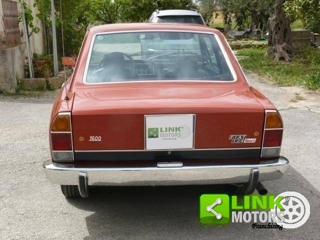 1975 Fiat 124 1600 Coupè Targa oro ASI For Sale (picture 5 of 6)