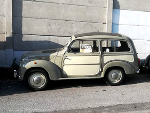 1953 Fiat 500 Topolino Wagonette