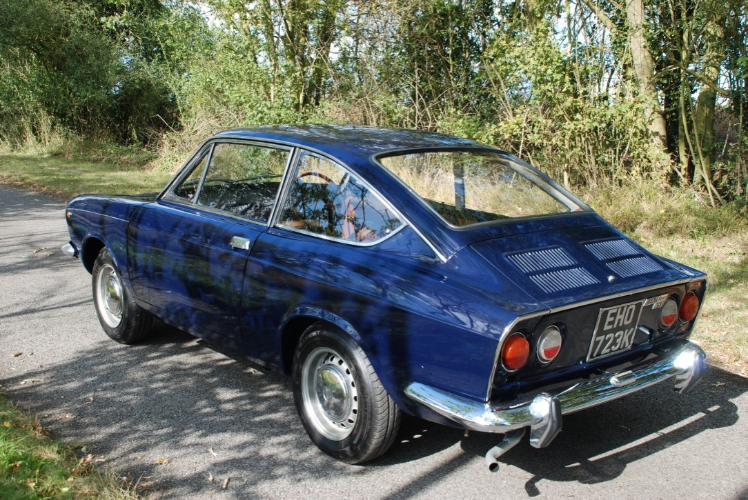 1972 Fiat 850 Sport Coupe S3 RHD SOLD (picture 1 of 6)