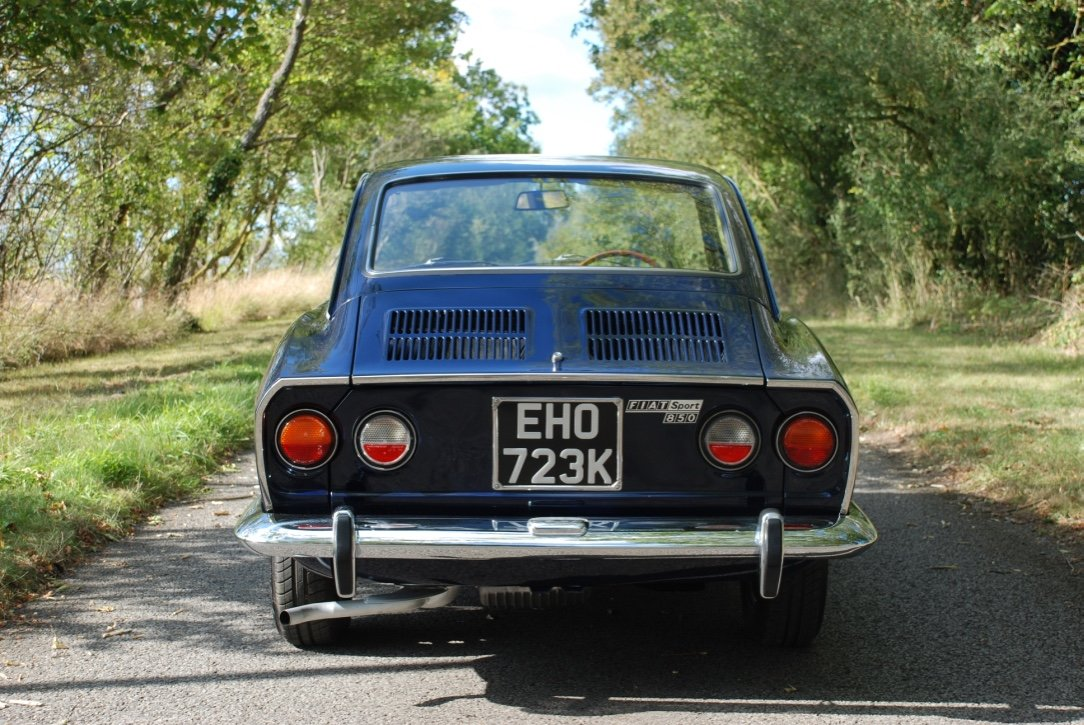 1972 Fiat 850 Sport Coupe S3 RHD SOLD (picture 3 of 6)