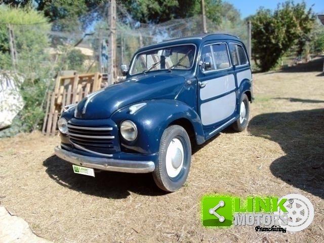 Fiat 500 C, anno 1954, ottima base di restauro, radiata For Sale (picture 1 of 6)