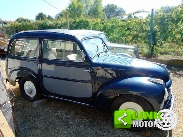 Fiat 500 C, anno 1954, ottima base di restauro, radiata For Sale (picture 2 of 6)