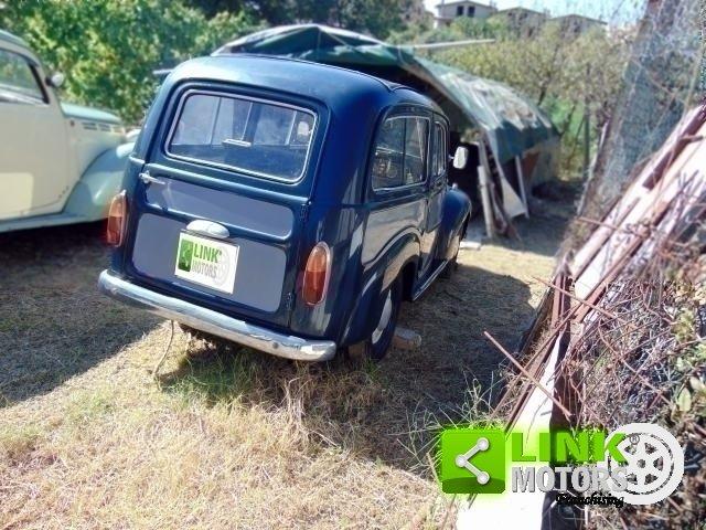 Fiat 500 C, anno 1954, ottima base di restauro, radiata For Sale (picture 4 of 6)