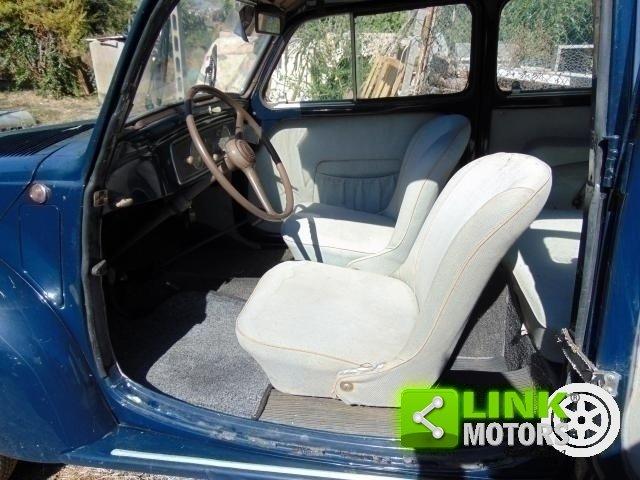 Fiat 500 C, anno 1954, ottima base di restauro, radiata For Sale (picture 6 of 6)