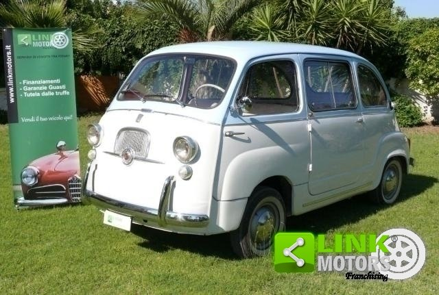 1962 Fiat 600 MULTIPLA For Sale (picture 1 of 6)