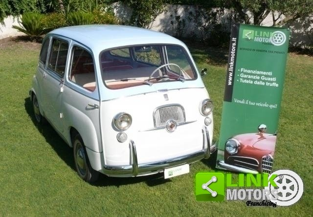 1962 Fiat 600 MULTIPLA For Sale (picture 2 of 6)