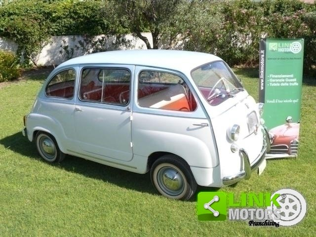 1962 Fiat 600 MULTIPLA For Sale (picture 3 of 6)