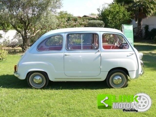 1962 Fiat 600 MULTIPLA For Sale (picture 4 of 6)