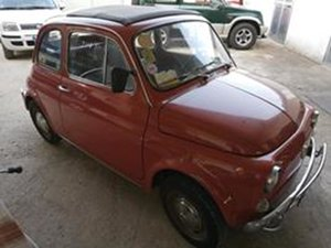 1972 Fiat 500 L Orange with tow hitch - Never restored For Sale