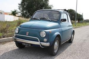 1971 Fiat 500 L Blue - Never restored For Sale