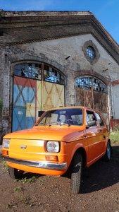 1981 Fiat 126 1219km!!! Fabric-original Polski