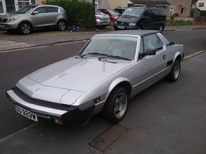 1982 Fiat  X1/9   12 moth MOT For Sale