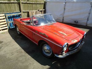 FIAT 1200 VS LHD CABRIOLET (1961) RED! US IMPORT! VERY RARE