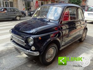 1970 Fiat Nuova 500 Francis Lombardi My Car (rarissima) For Sale
