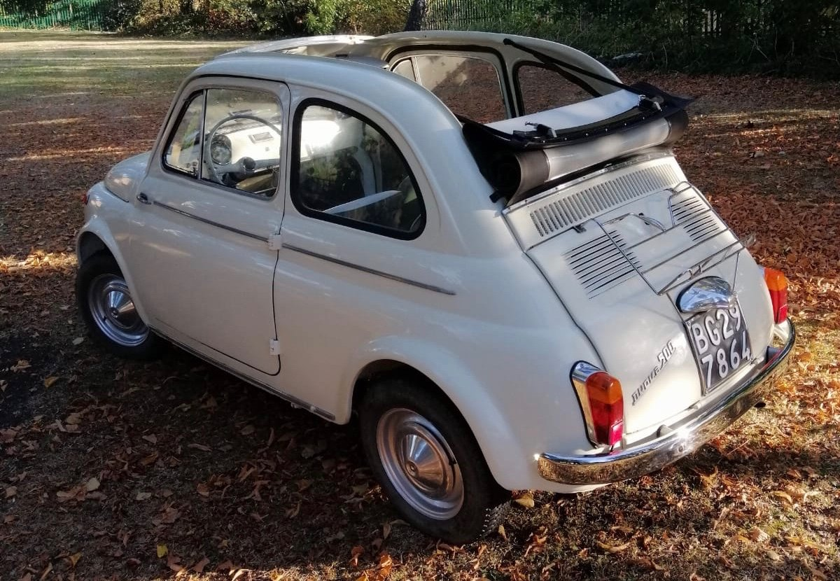 1961 Fiat 500 D Trasformabile For Sale (picture 1 of 4)