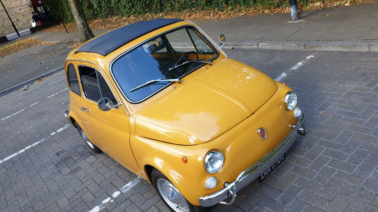 1970 Fiat 500 Ultra clean inside and out For Sale (picture 3 of 6)