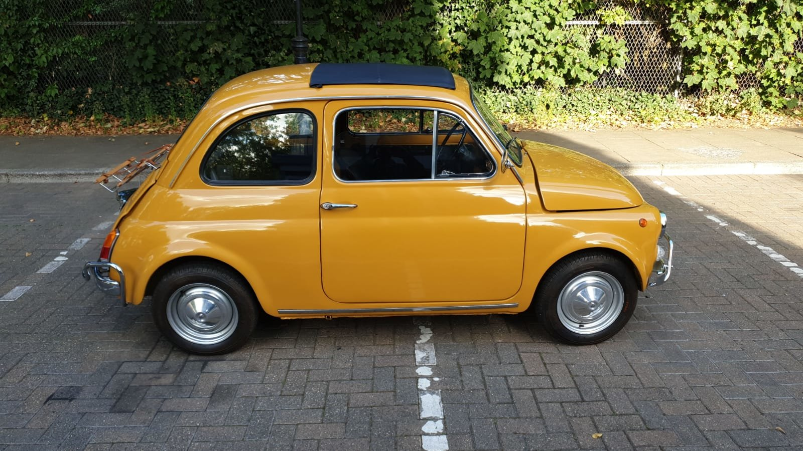 1970 Fiat 500 Ultra clean inside and out For Sale (picture 4 of 6)