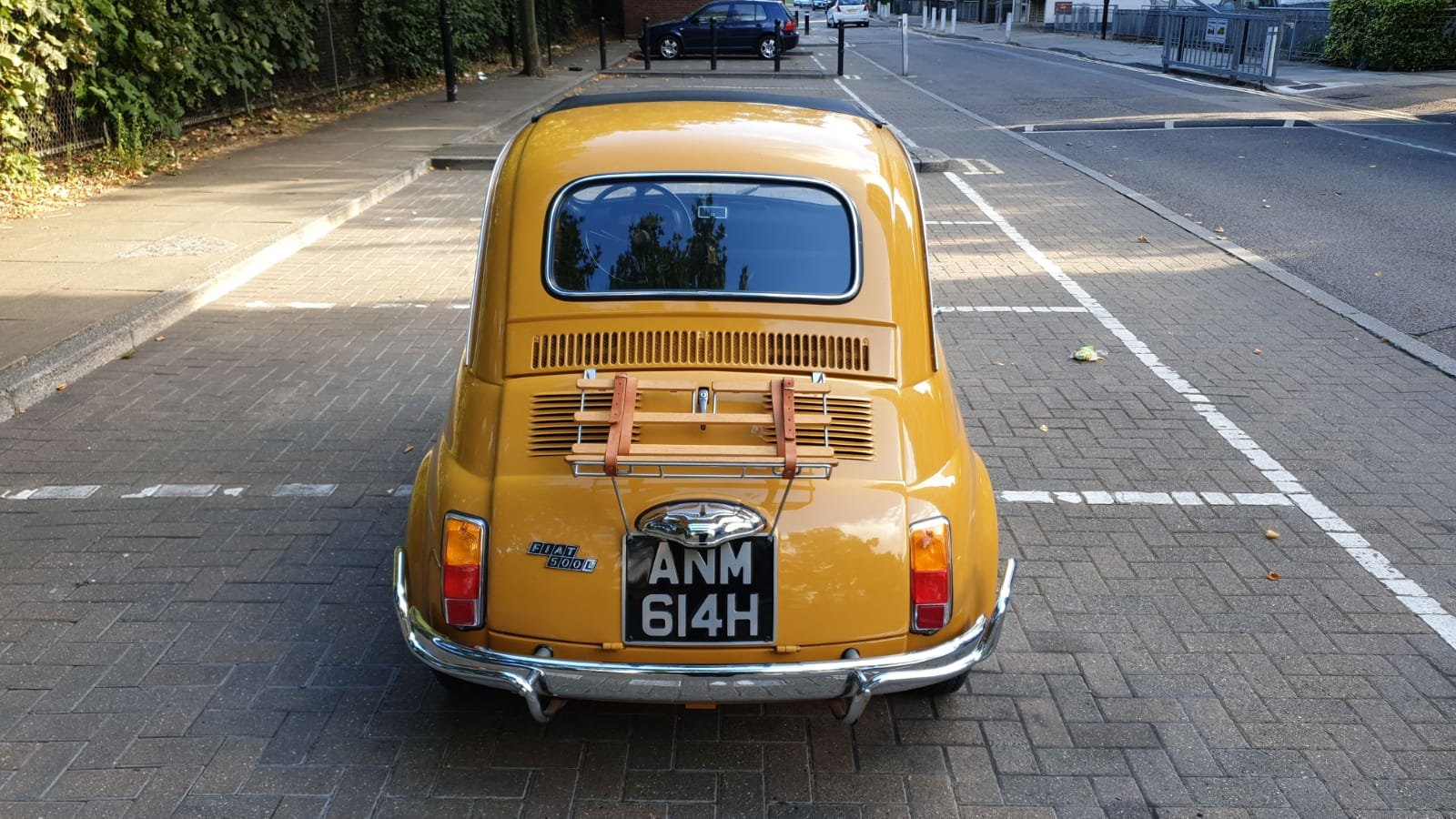 1970 Fiat 500 Ultra clean inside and out For Sale (picture 6 of 6)