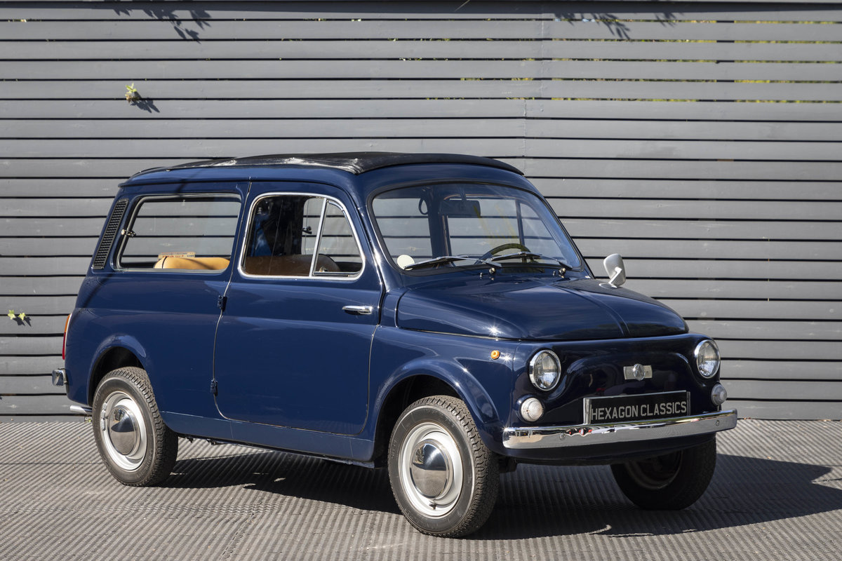 1973 FIAT GIARDINIERA 500K, LHD SOLD (picture 1 of 23)