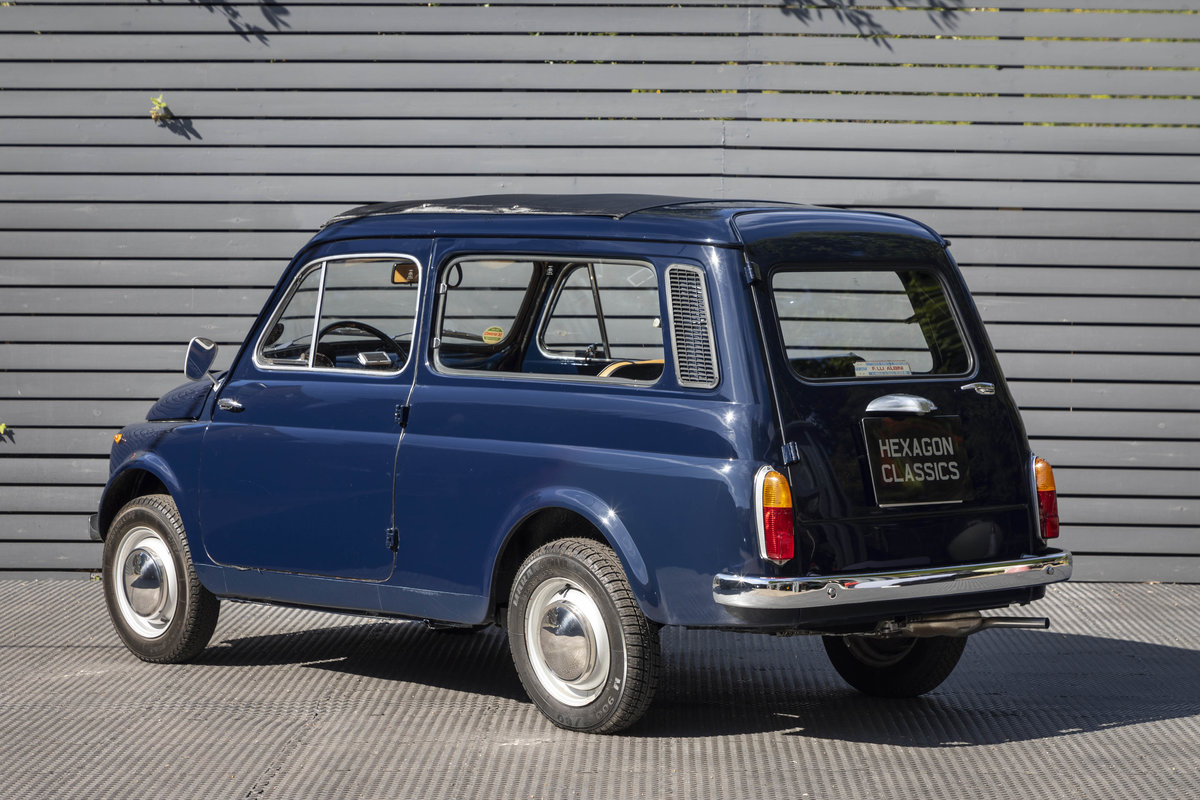 1973 FIAT GIARDINIERA 500K, LHD SOLD (picture 2 of 23)