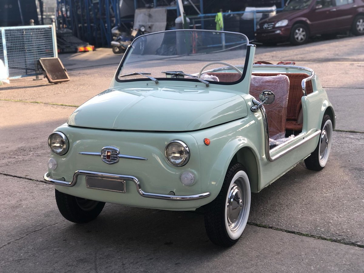 1966 Fiat 500 Jolly Replica - Show Standard For Sale (picture 4 of 6)