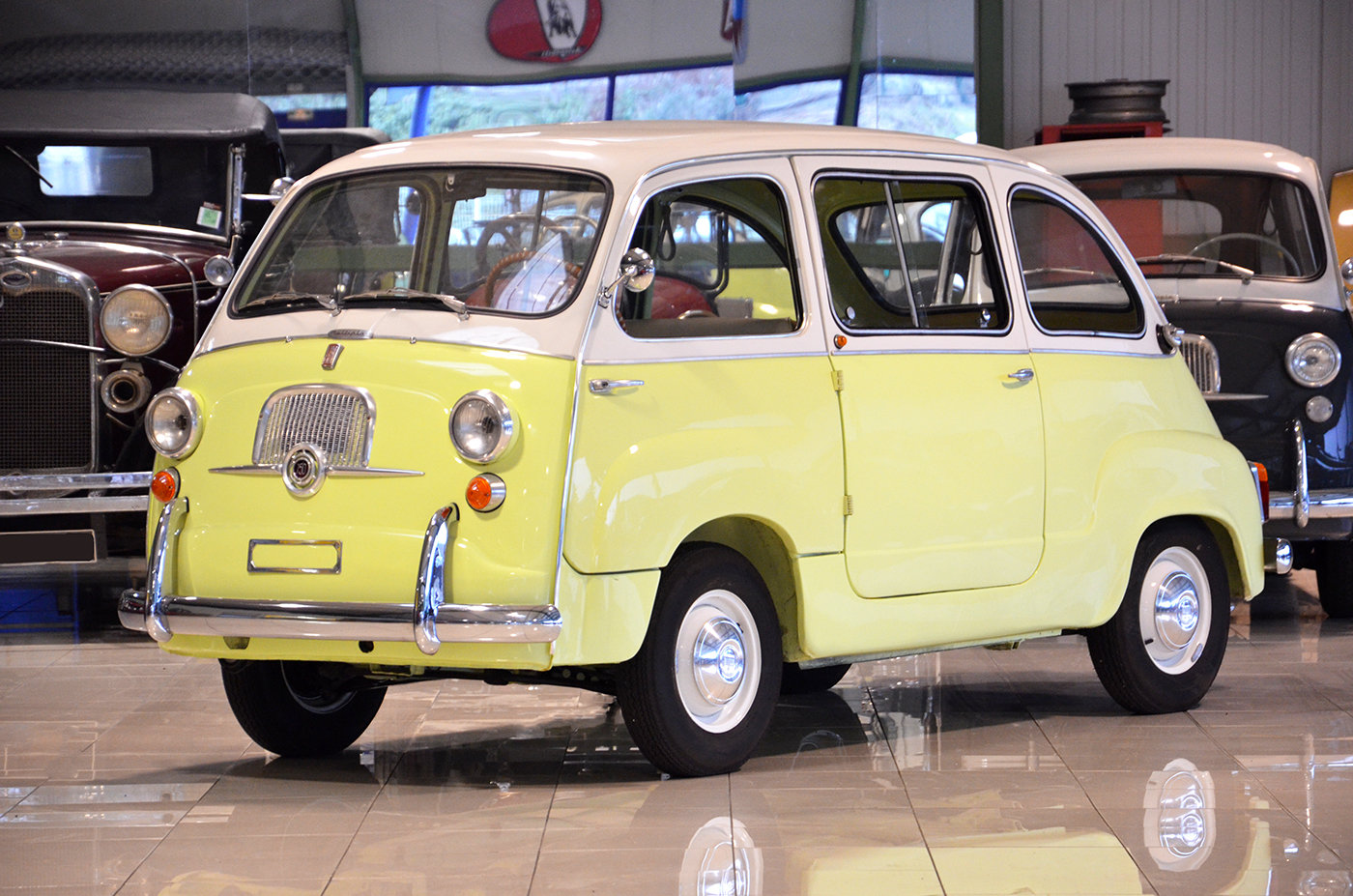 1964 - Fiat 600 D Multipla - Top condition - Fully restored SOLD (picture 1 of 6)