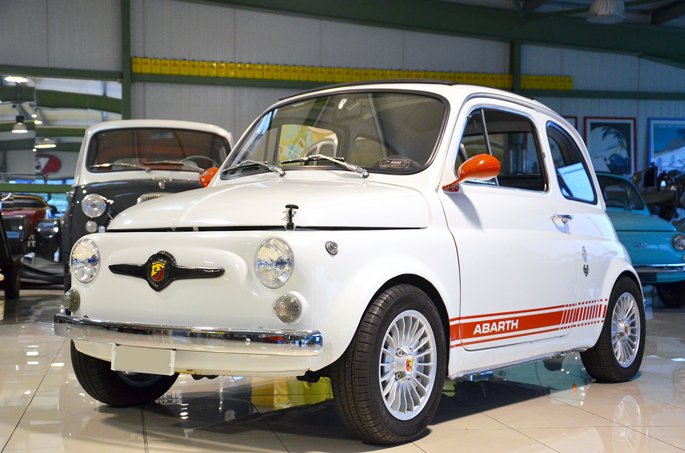 1971 - Fiat 500 L Abarth tribute SOLD (picture 1 of 6)