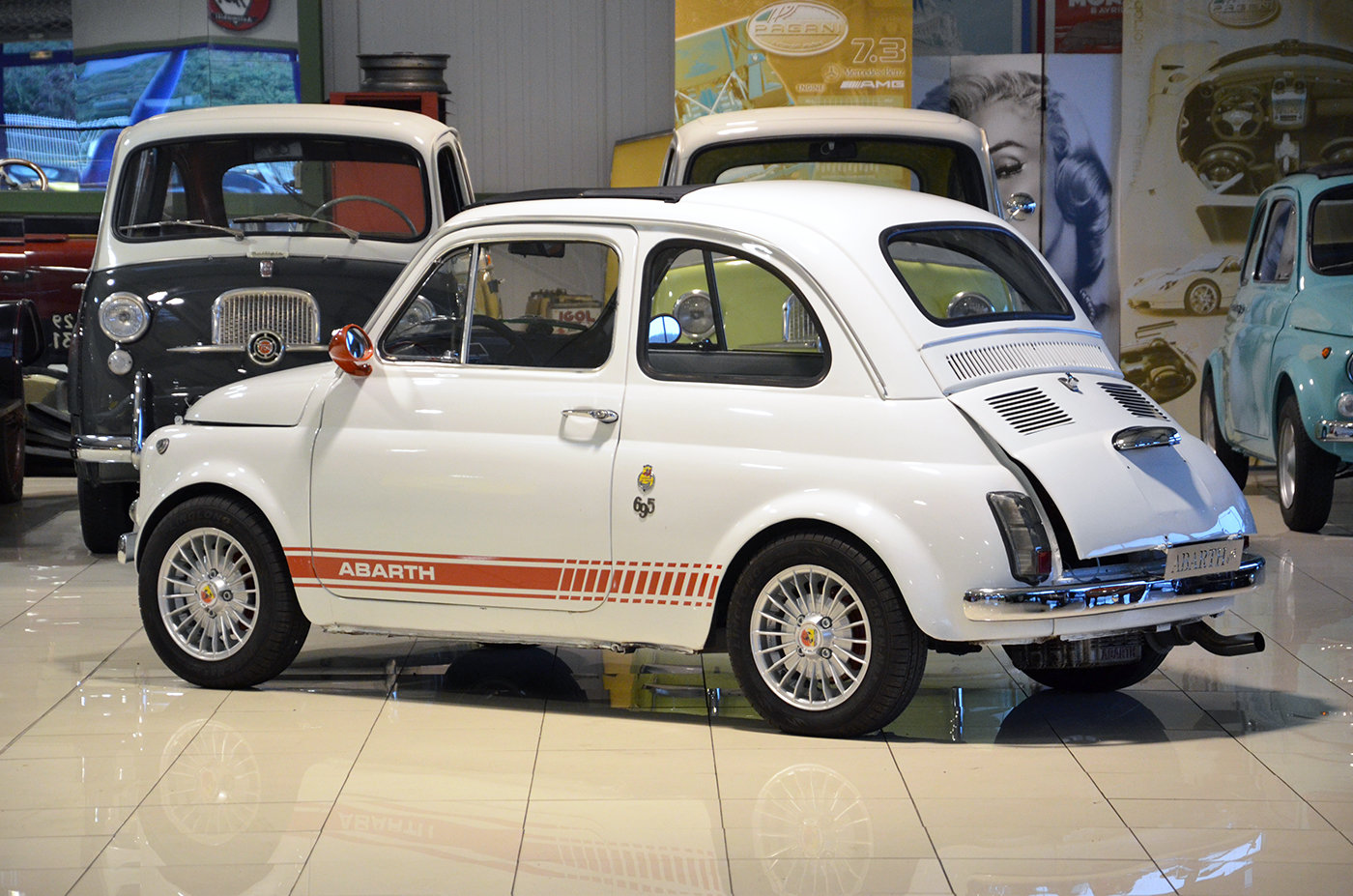 1971 - Fiat 500 L Abarth tribute SOLD (picture 2 of 6)