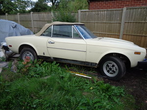 1979 fiat 124 spider 2.0i rustfree lhd project For Sale