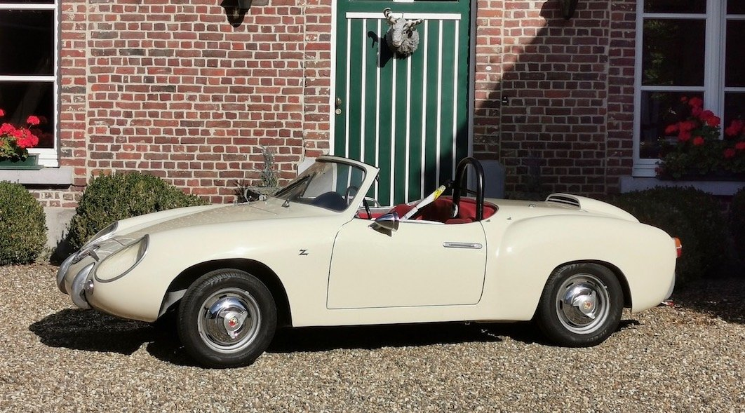 1957 Fiat Abarth 750 Zagato Spider For Sale (picture 1 of 6)