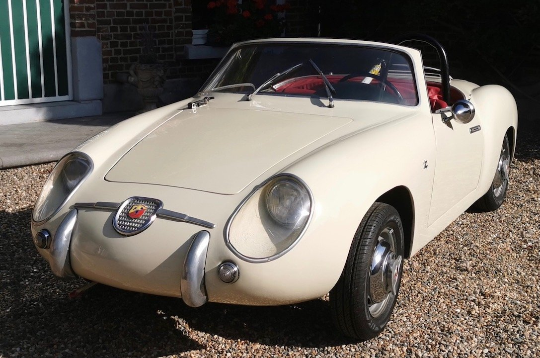 1957 Fiat Abarth 750 Zagato Spider For Sale (picture 2 of 6)