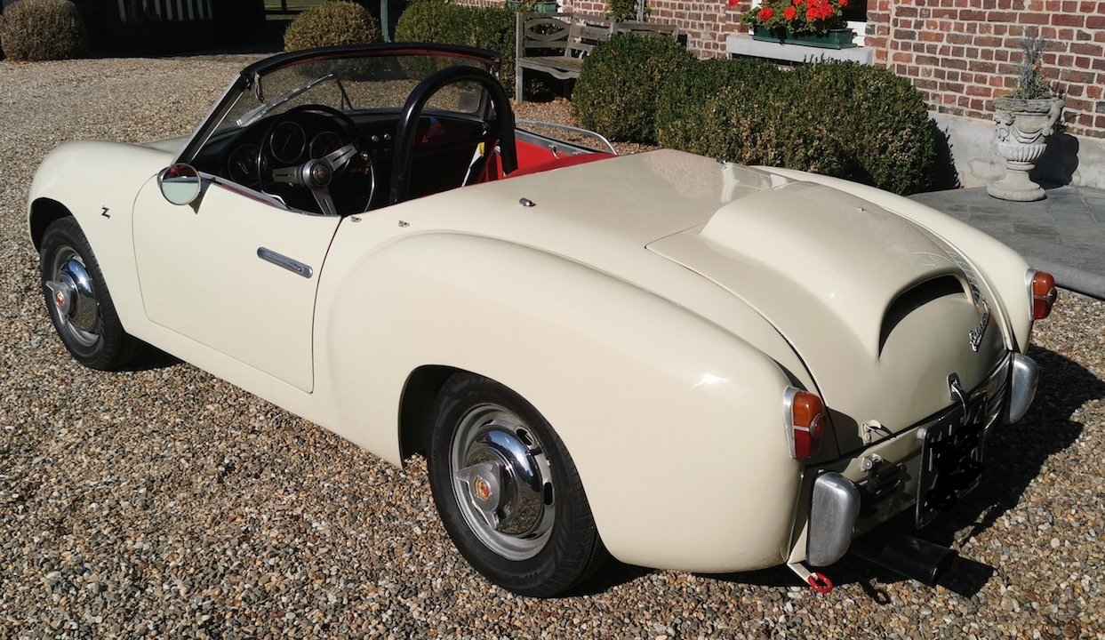 1957 Fiat Abarth 750 Zagato Spider For Sale (picture 3 of 6)