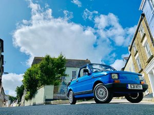 1988 Great Example Of A 1989 Fiat 126 BIS Convertible  For Sale