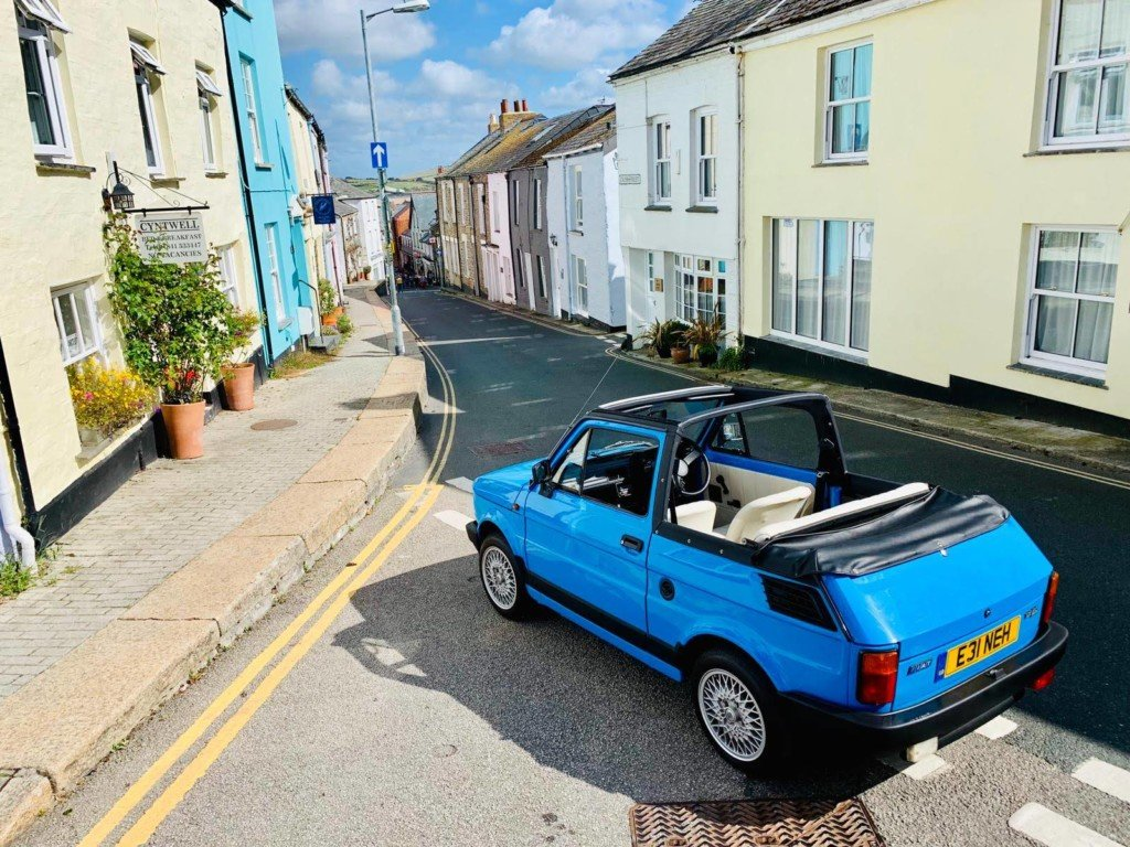 1988 Great Example Of A 1989 Fiat 126 BIS Convertible  For Sale (picture 2 of 5)
