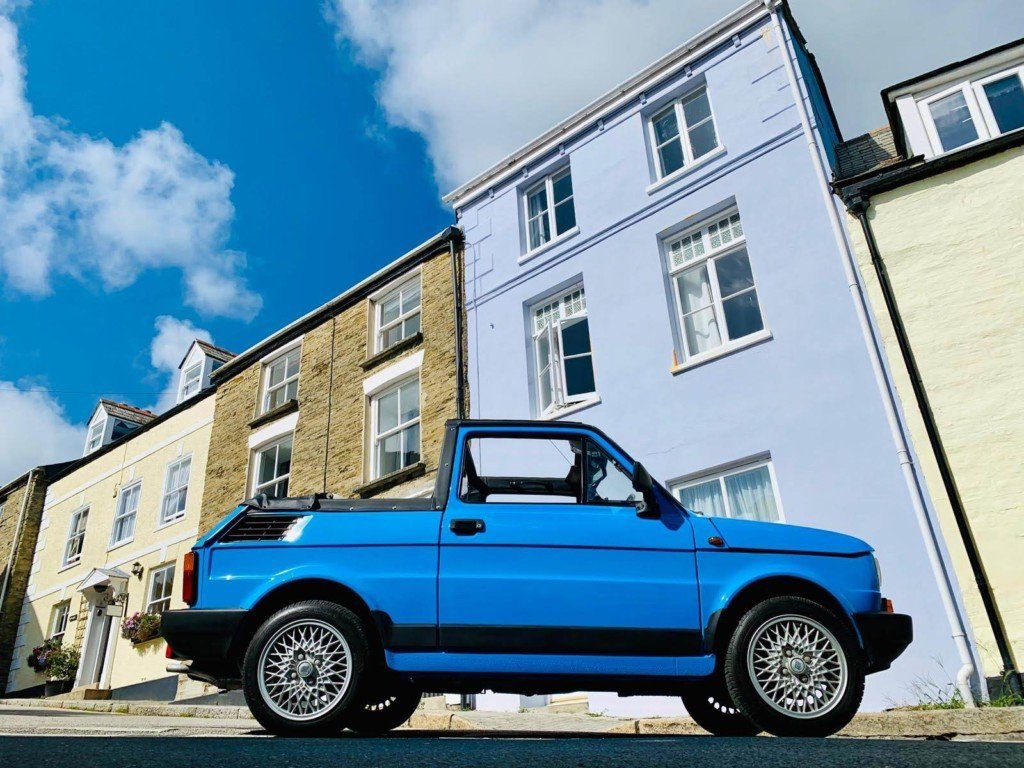 1988 Great Example Of A 1989 Fiat 126 BIS Convertible  For Sale (picture 5 of 5)