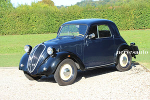 1938 Fiat 500 A Topolino balestra lunga berlina For Sale