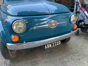 1966 Fiat 500F Classic, Nuova UK Registered For Sale