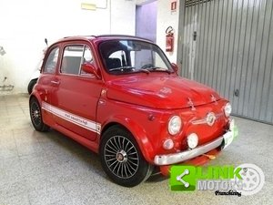 1971 Fiat 500 Abarth (simile) totalmente resturata