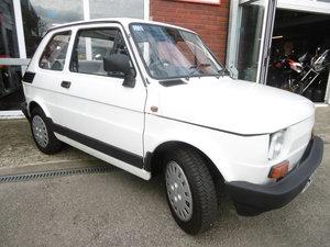 1988 Fiat 126BIS Time warp . UK RHD . ONLY 15000k miles