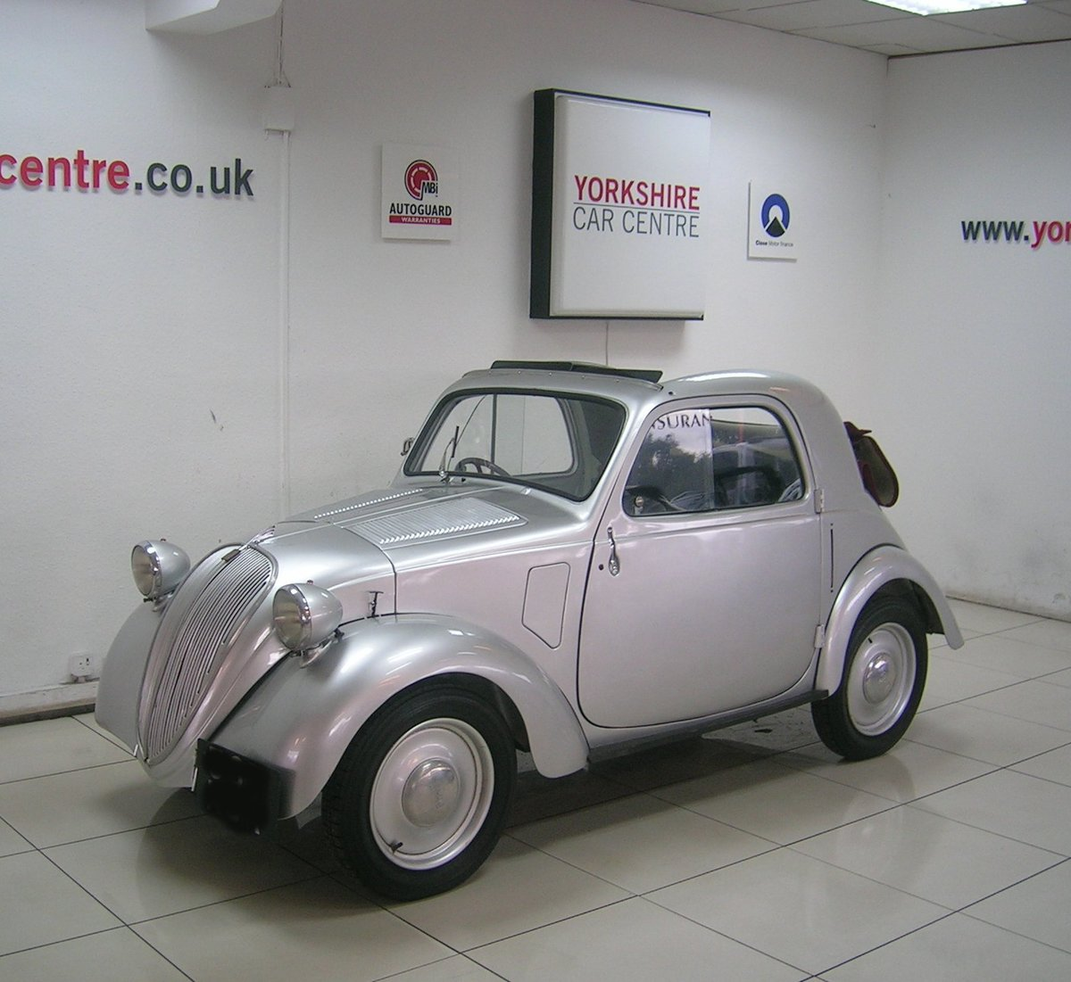 1937 Fiat 500 Topolino Historic Vehicle  For Sale (picture 1 of 6)