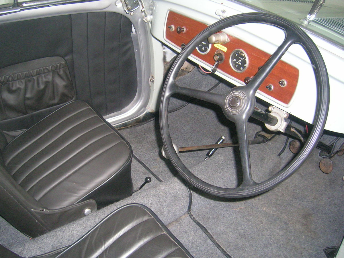 1937 Fiat 500 Topolino Historic Vehicle  For Sale (picture 5 of 6)